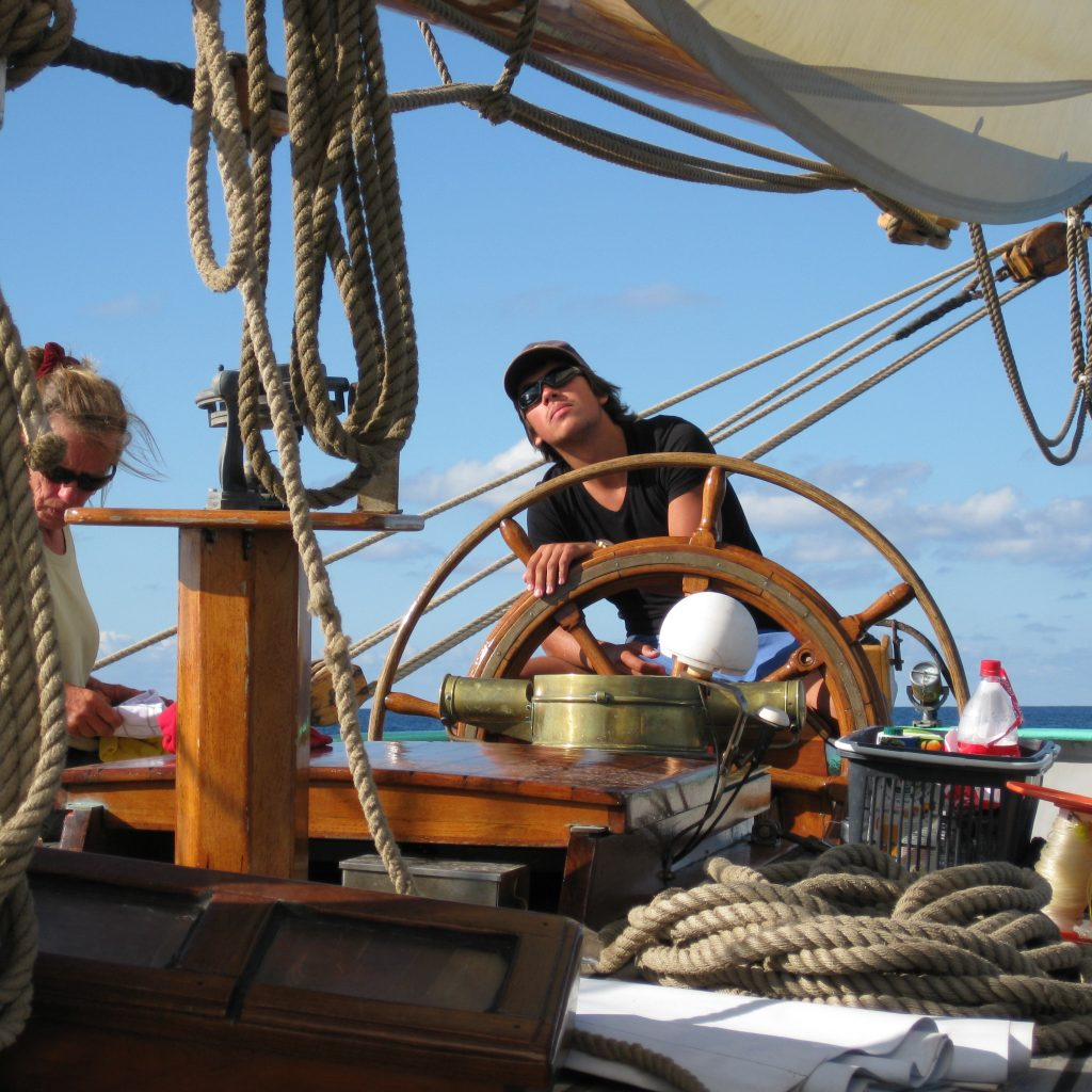 tecla ocean sailing