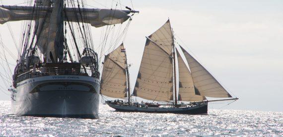 Tecla has won several tall ships races
