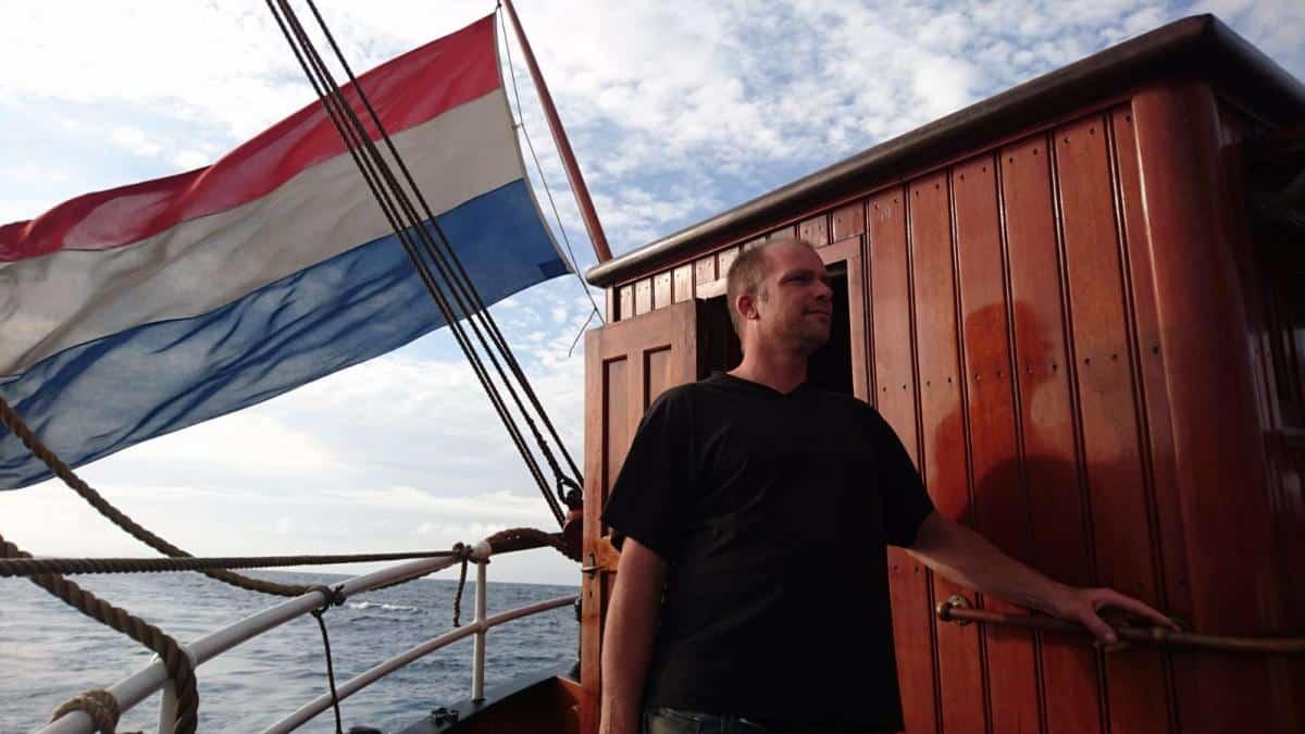 Oosterschelde Captain Maarten de Jong