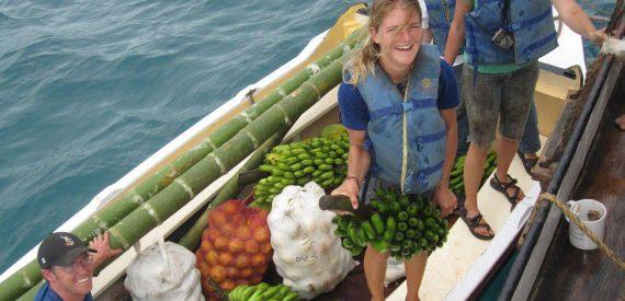Fresh fruit for the next voyage leg