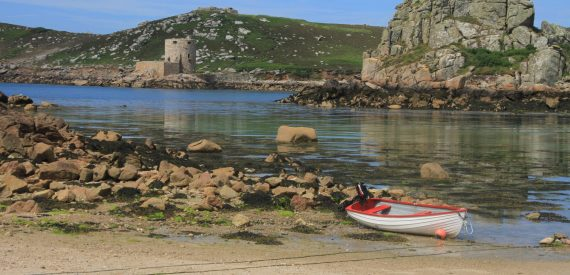 New Grimsby Sound in the isles of Scilly