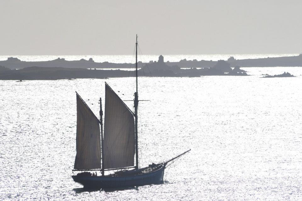 Irene in the Scillies - Broad Sound