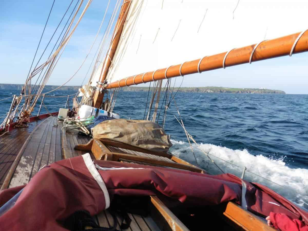 RYA Courses on a Classic Yacht. Moosk is the most yacht like in the Classic Sailing Fleet