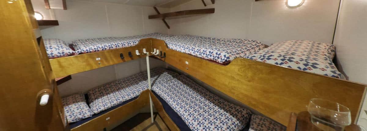 4 berth cabin on Morgenster