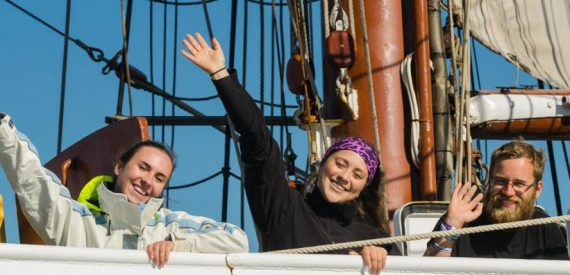 sailing on tall ships with classic sailing