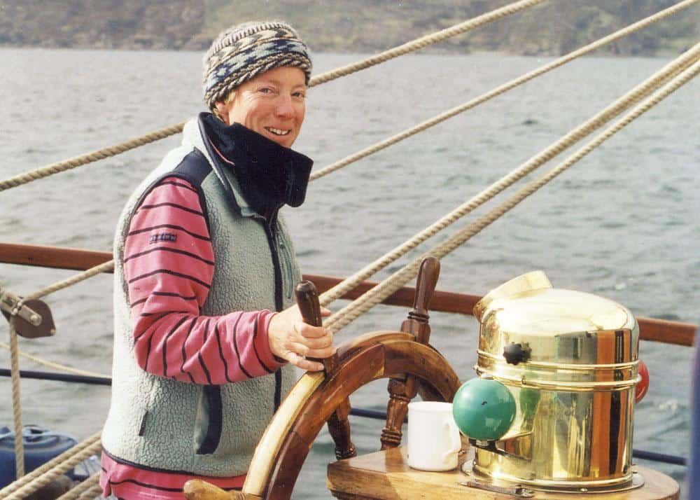 Debbie Purser - Director and Skipper of Classic Sailing