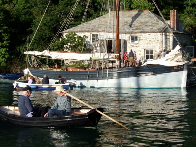 Pilot Cutter Agnes in the historic port of Fowey