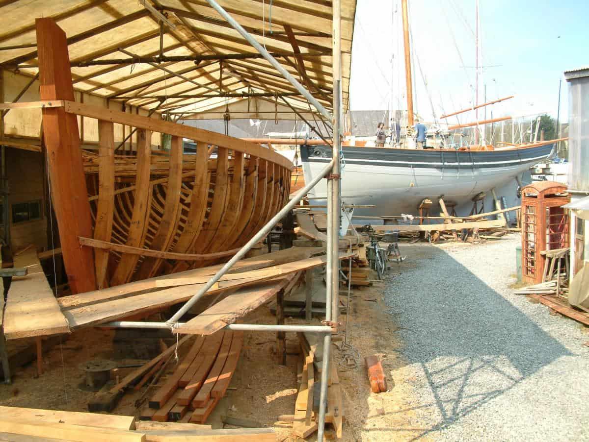 Working Sail has designed several replica pilot cutters, including Agnes