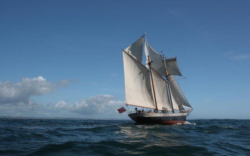 Classic Sailing on Johanna L:ucretia