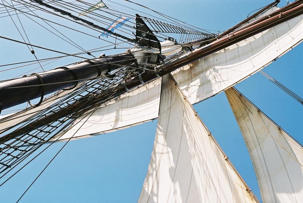 Oosterschelde has 891 sq metres of sail