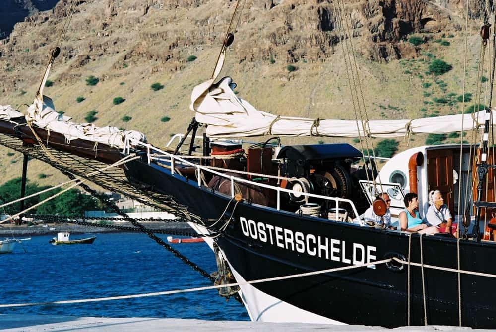 Oosterschelde is a beautiful wooden Tall Ship