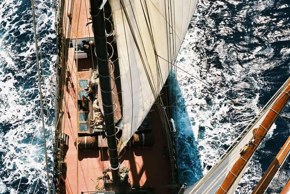 ocean cruising on oosterschelde