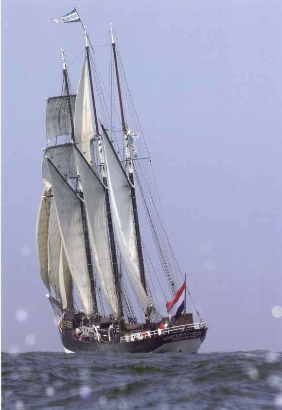 The winter schedule packed full of ocean sailing