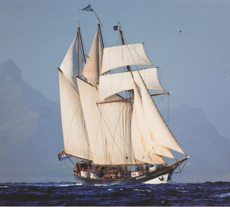 Island hopping in Cape Verde