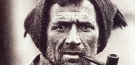Tom Crean on Shackleton's expedition