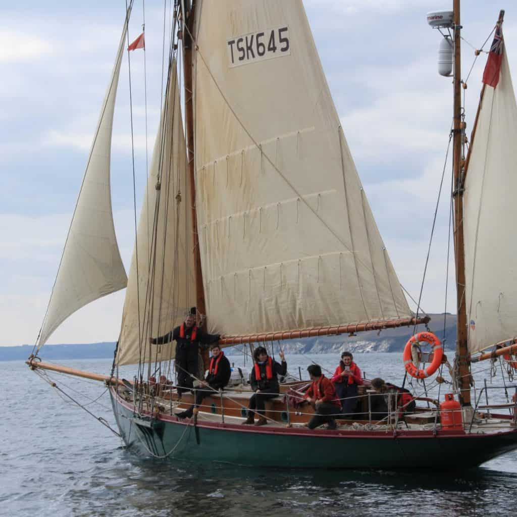 Moosk's Sailing Schedule includes RYA Courses and Tall Ship Races.