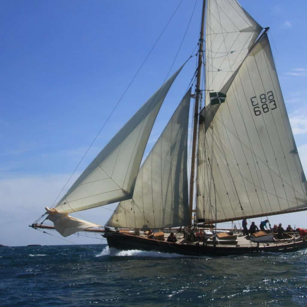 Pegasus is stunning and sails the Cornish and Isles of Scilly coast lines.