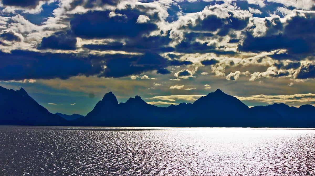 Lofoten Islands skyline