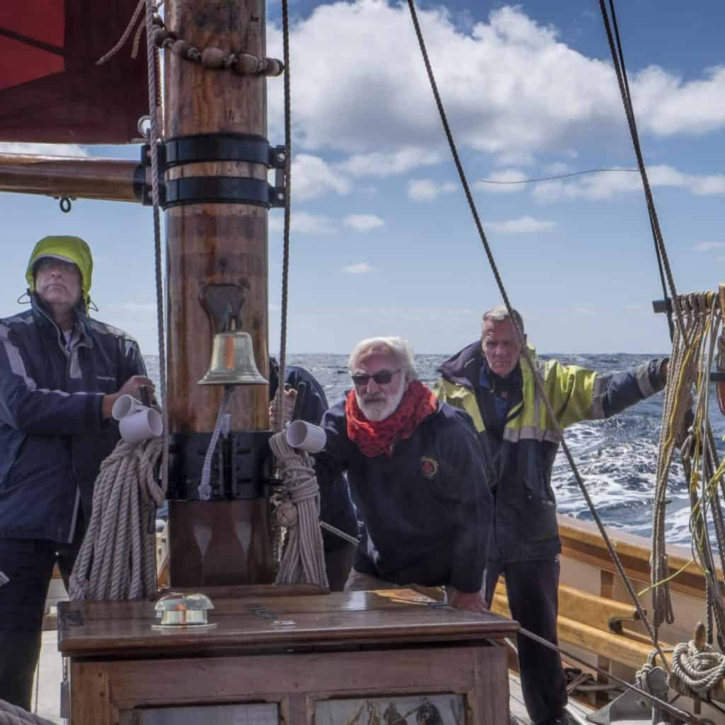 Pilgrim aims to give all ages an authentic sailing experience.