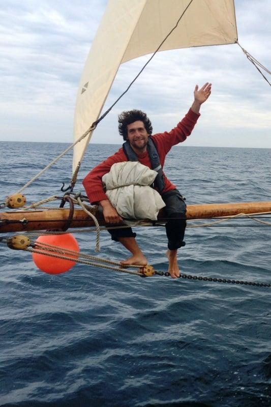 Aiden the skipper of Moosk.