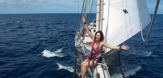 Gap Year Sailing on Blue Clipper with Classic Sailing in Scotland