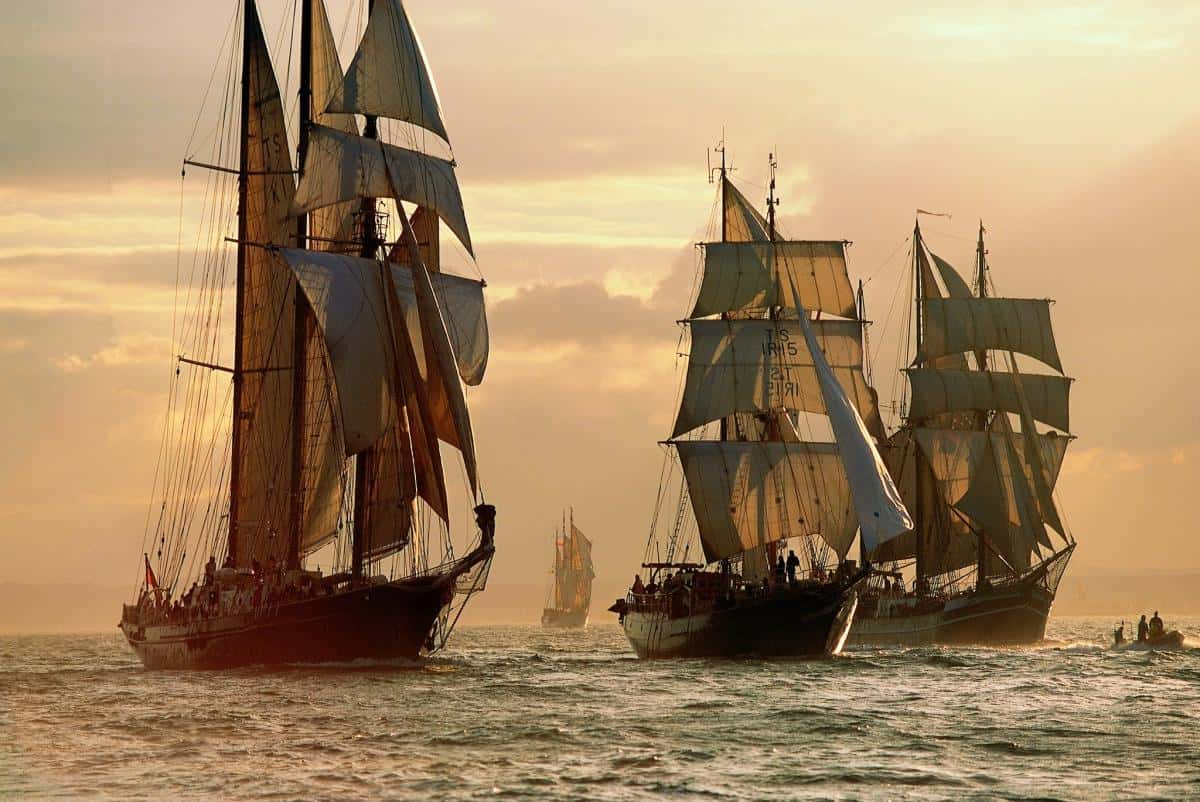 Tall Ships Races have different size classes for ships