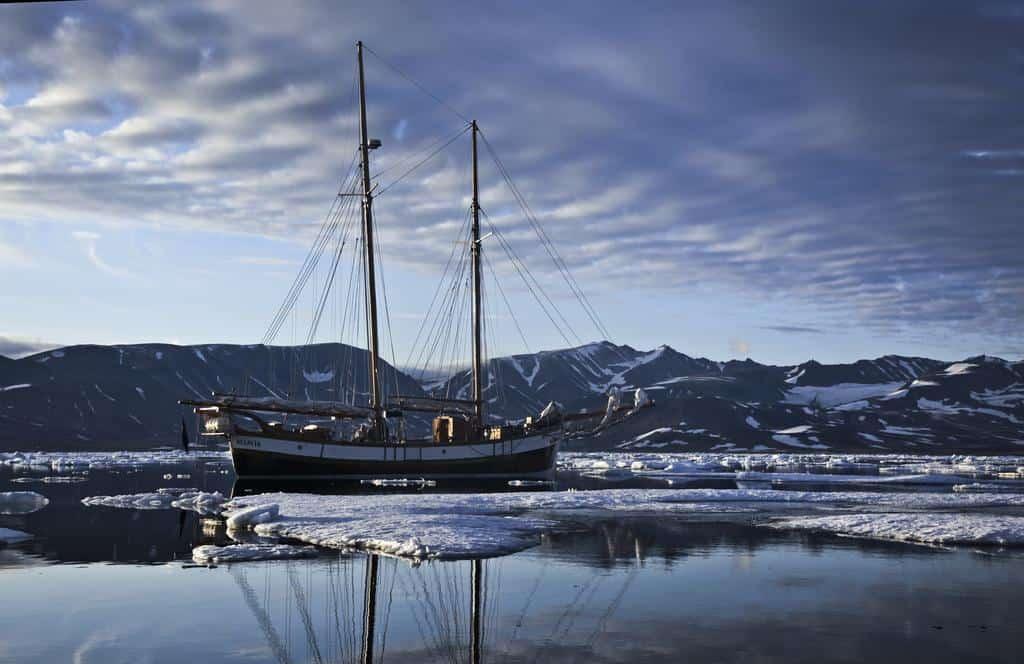 Hildur in the ice