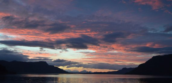 sailing with classic sailing Sunset- Loch Nevis