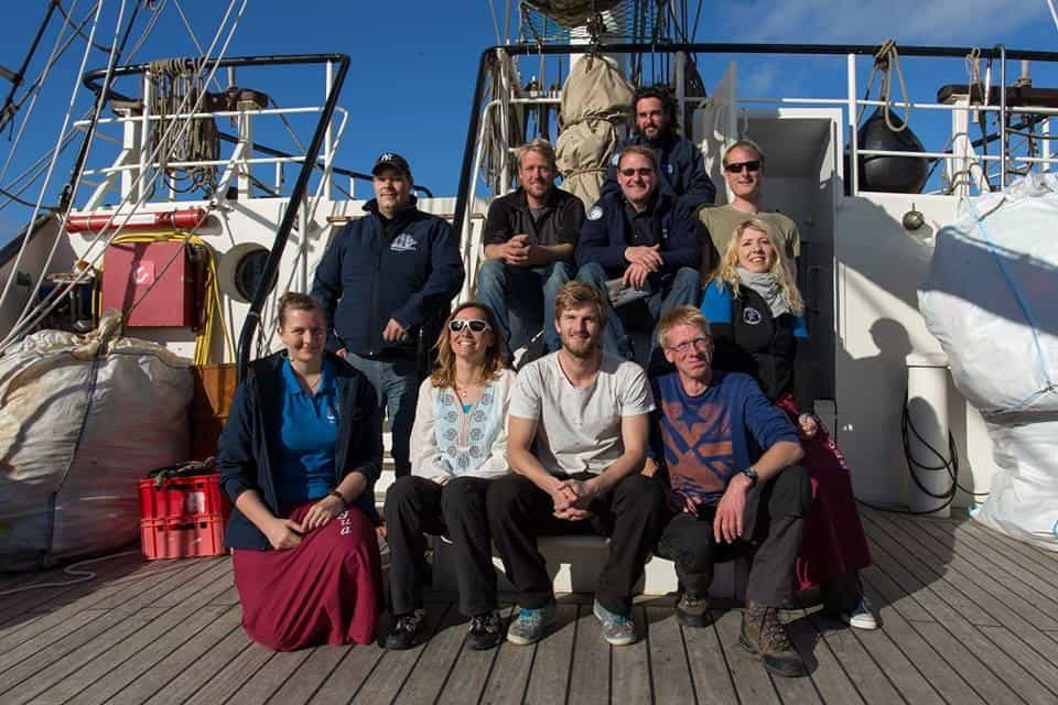 Crew guides on Antigua