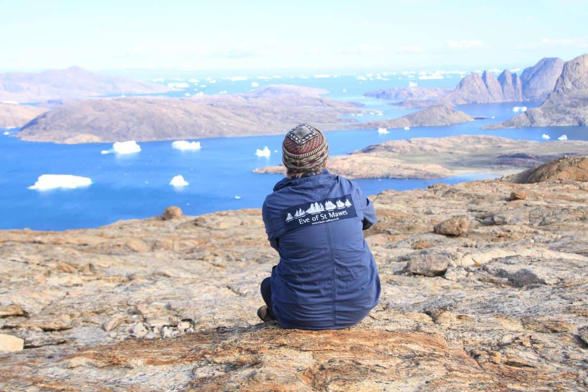 Debbie Purser in Greenland