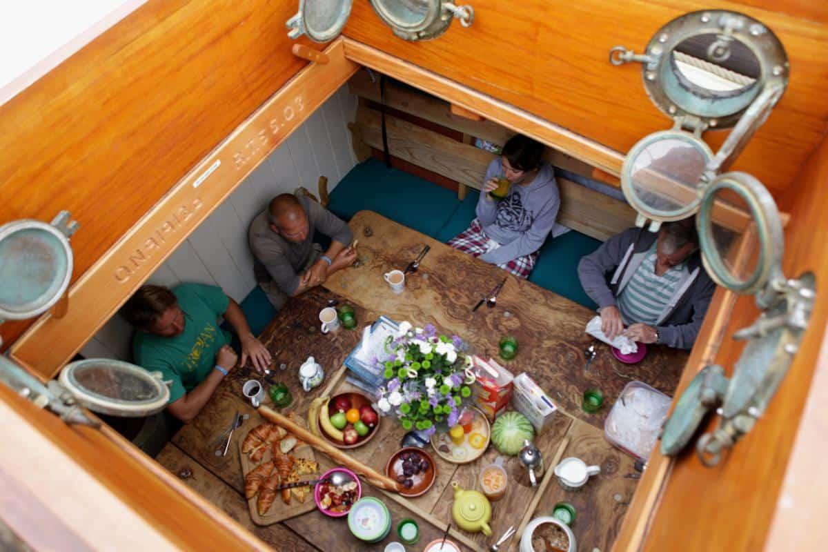 below decks meals on Grayhound