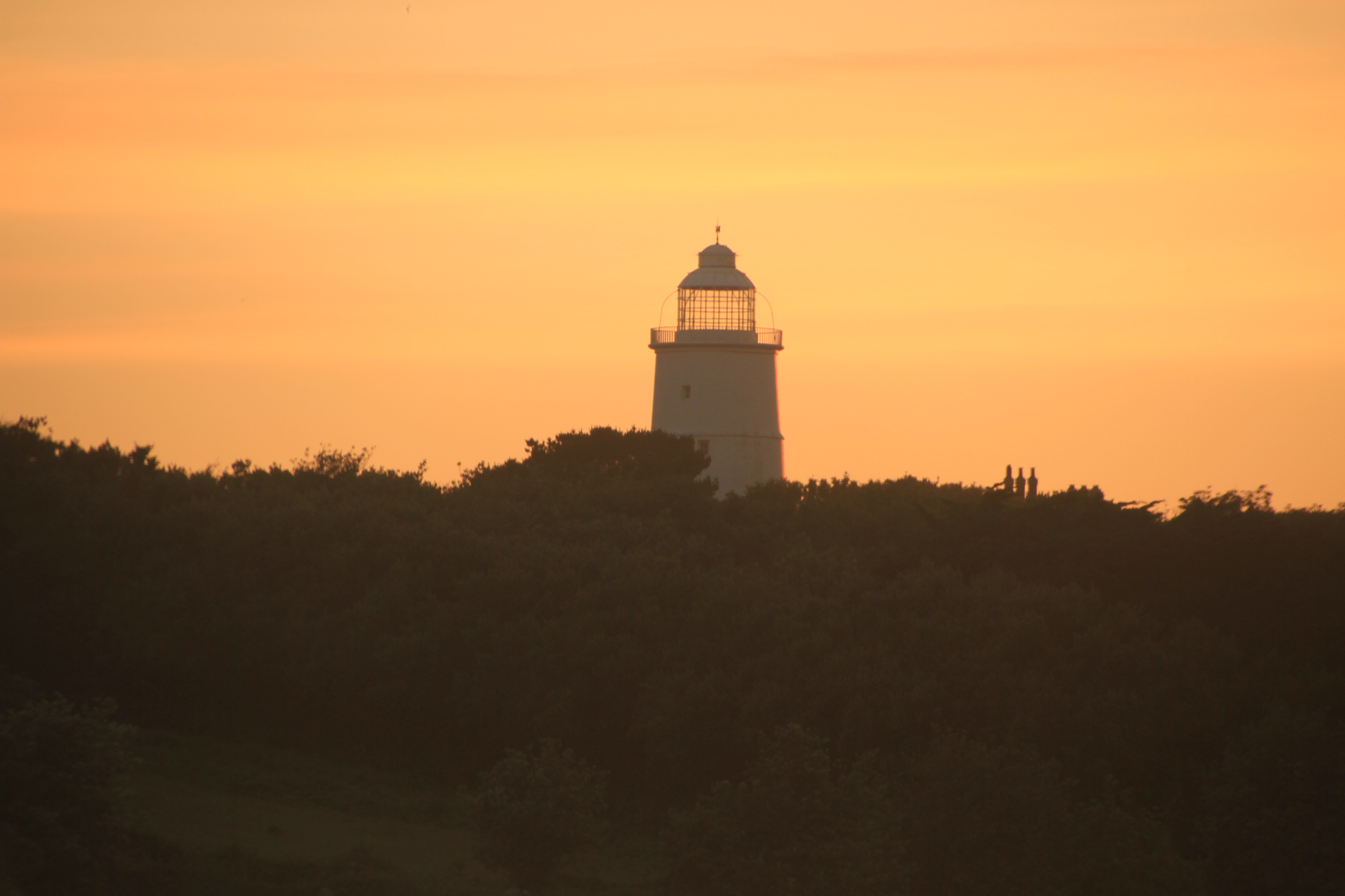 Old Lighthouse on St Agnes