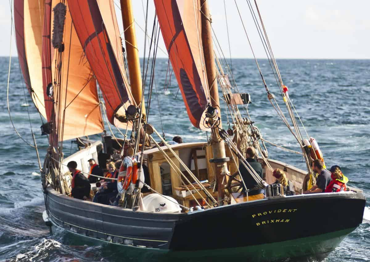 Sail with Provident at the Brixham Heritage regatta