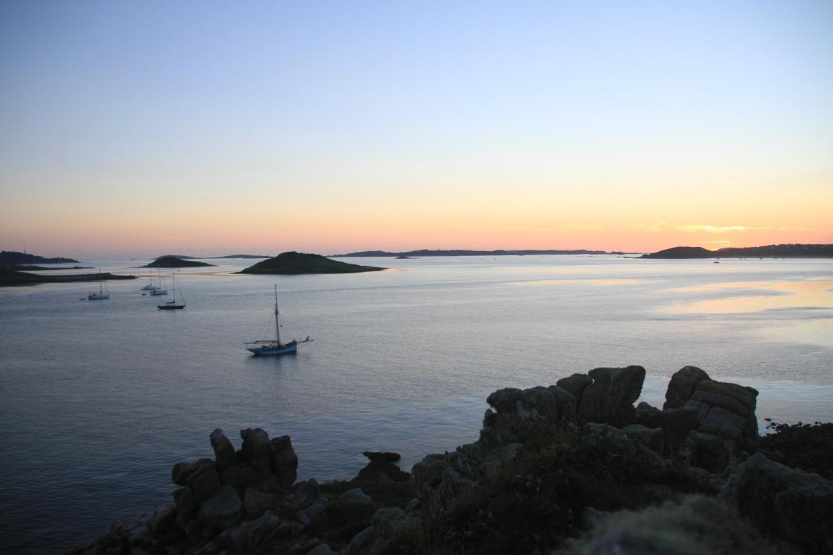 Stunning sunsets in the Isles of Scilly