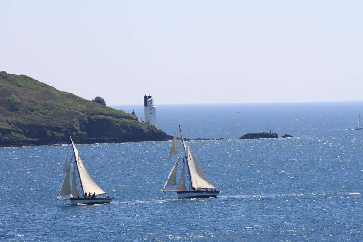 St Mawes Bay and St Anthony Lighthouse