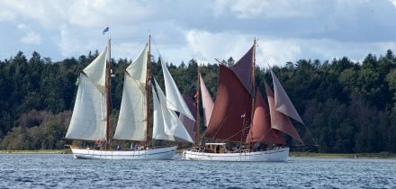 Danish sailing grounds and Baltic traders