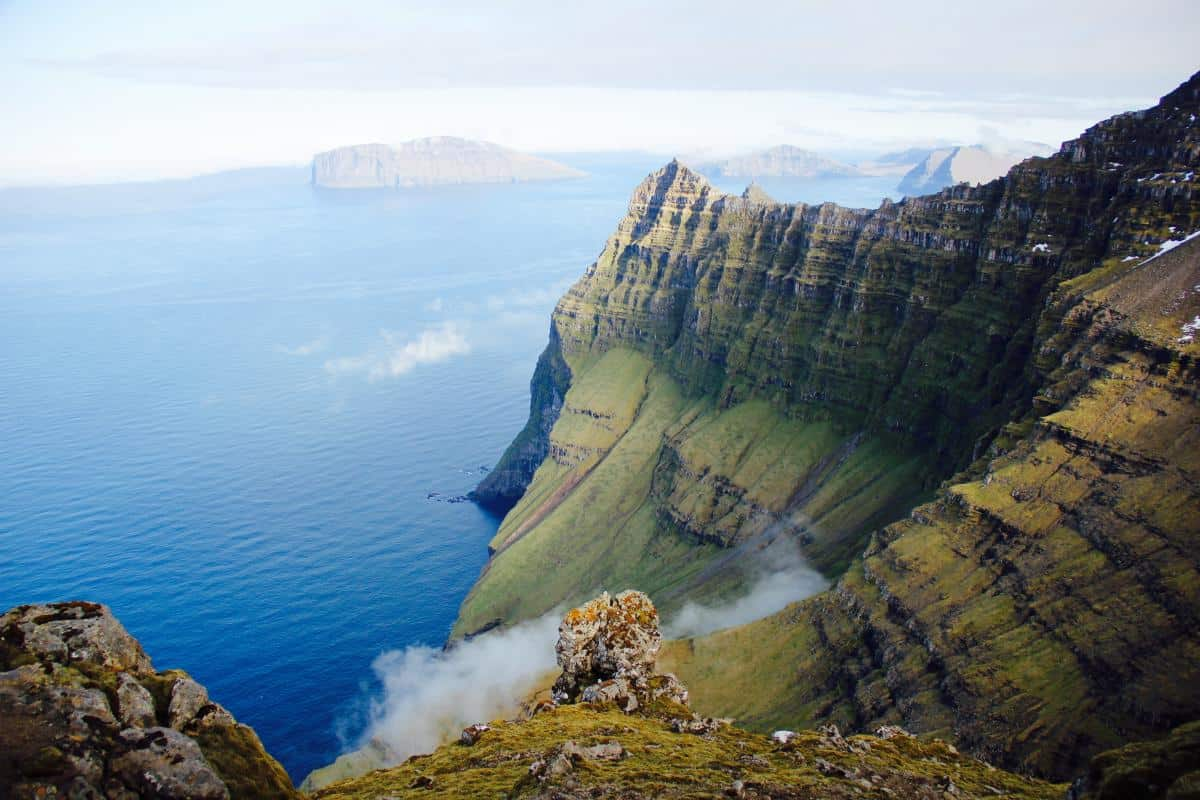 Sailing around the Faroes is not offered by many vessels Join Tecla this summer