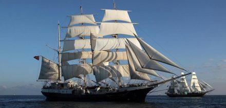 Sail on Tenacious with Classic Sailing