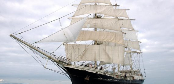 Tall Ship Tenacious with Classic Sailing