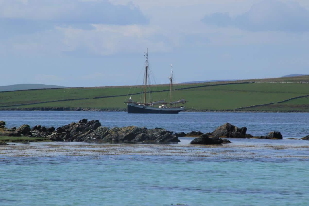 Tecla in Orkney