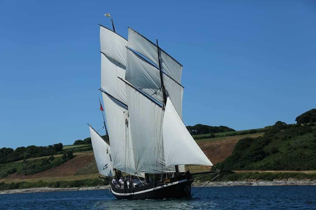 Nigel Sharp Photography - Grayhound sailing in Falmouth