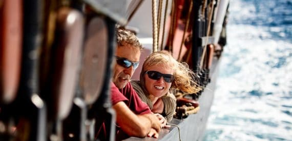 tall ship adventure sailing with classic sailing