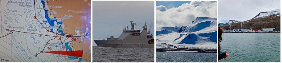 On course for Longyearbyen