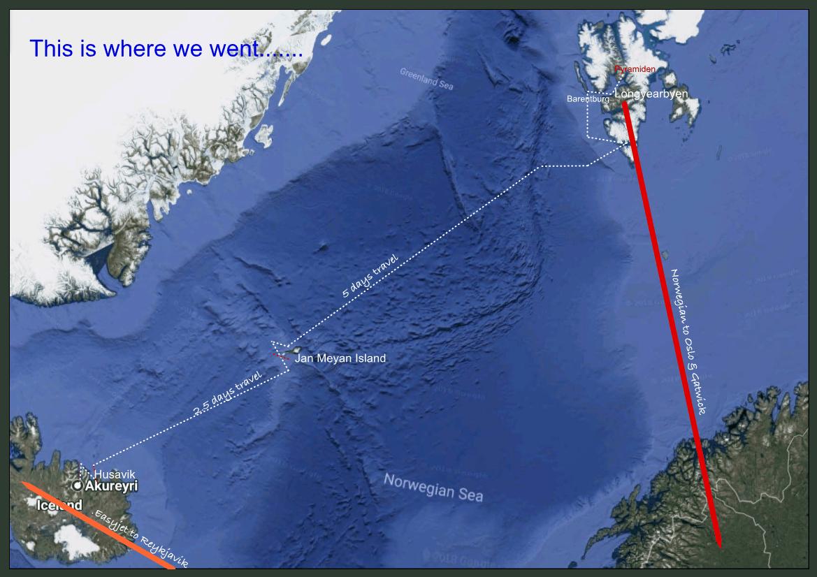 Blue Clipper Iceland to Spitsbergen voyage 2018