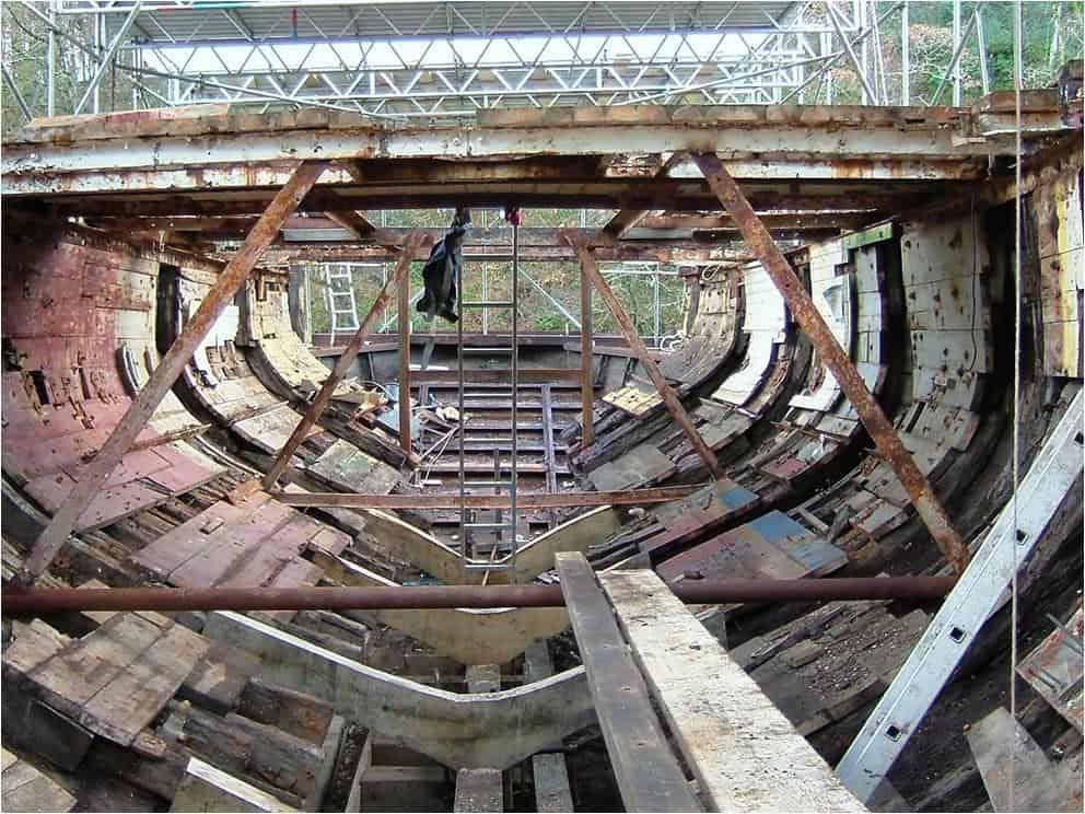 Pilgrim sailing trawler - giant jigsaw project.