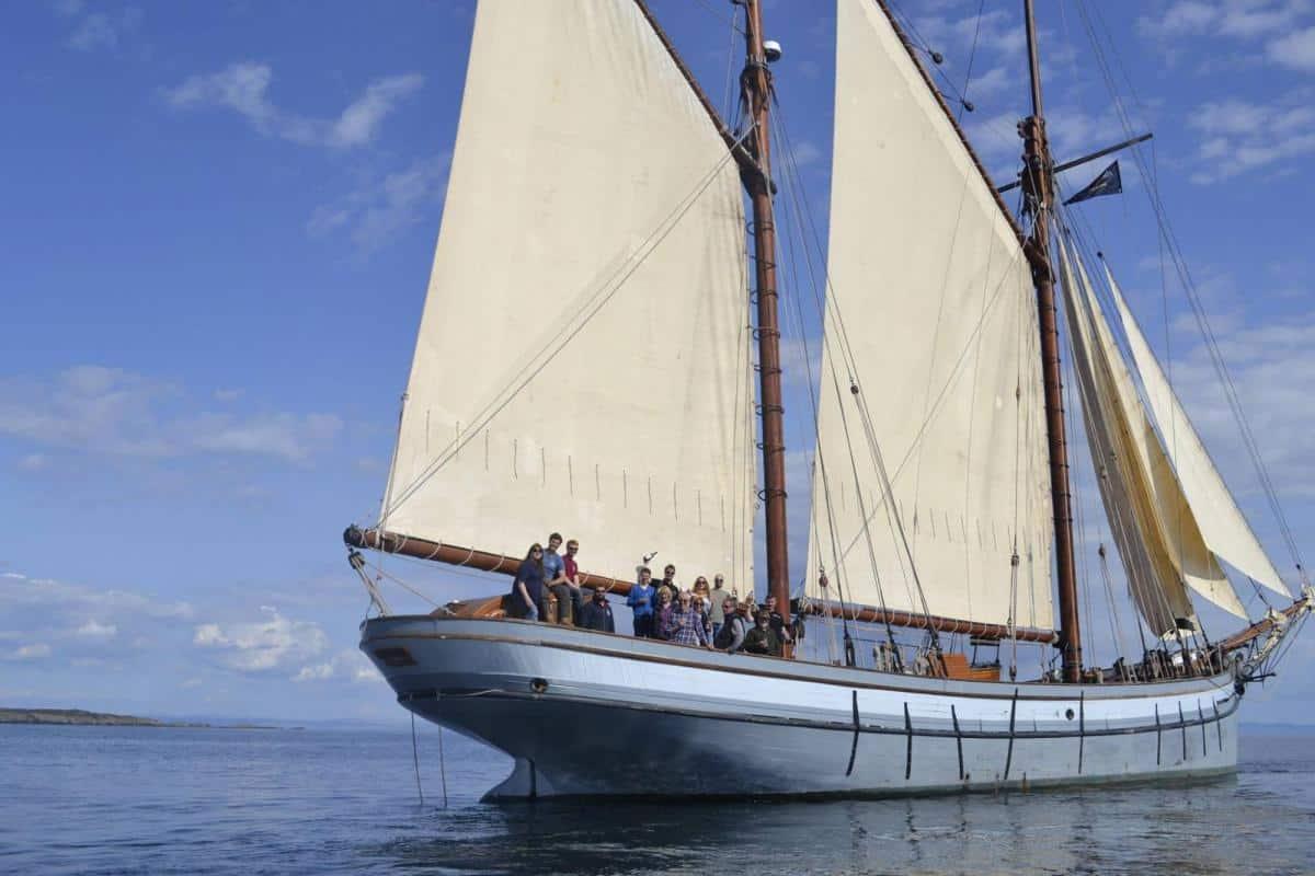"""Irene under sail"""