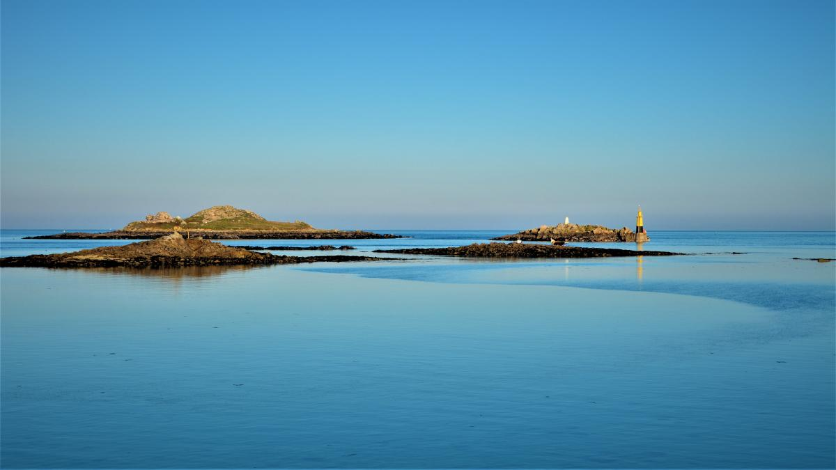 It is not always this calm in Brittany