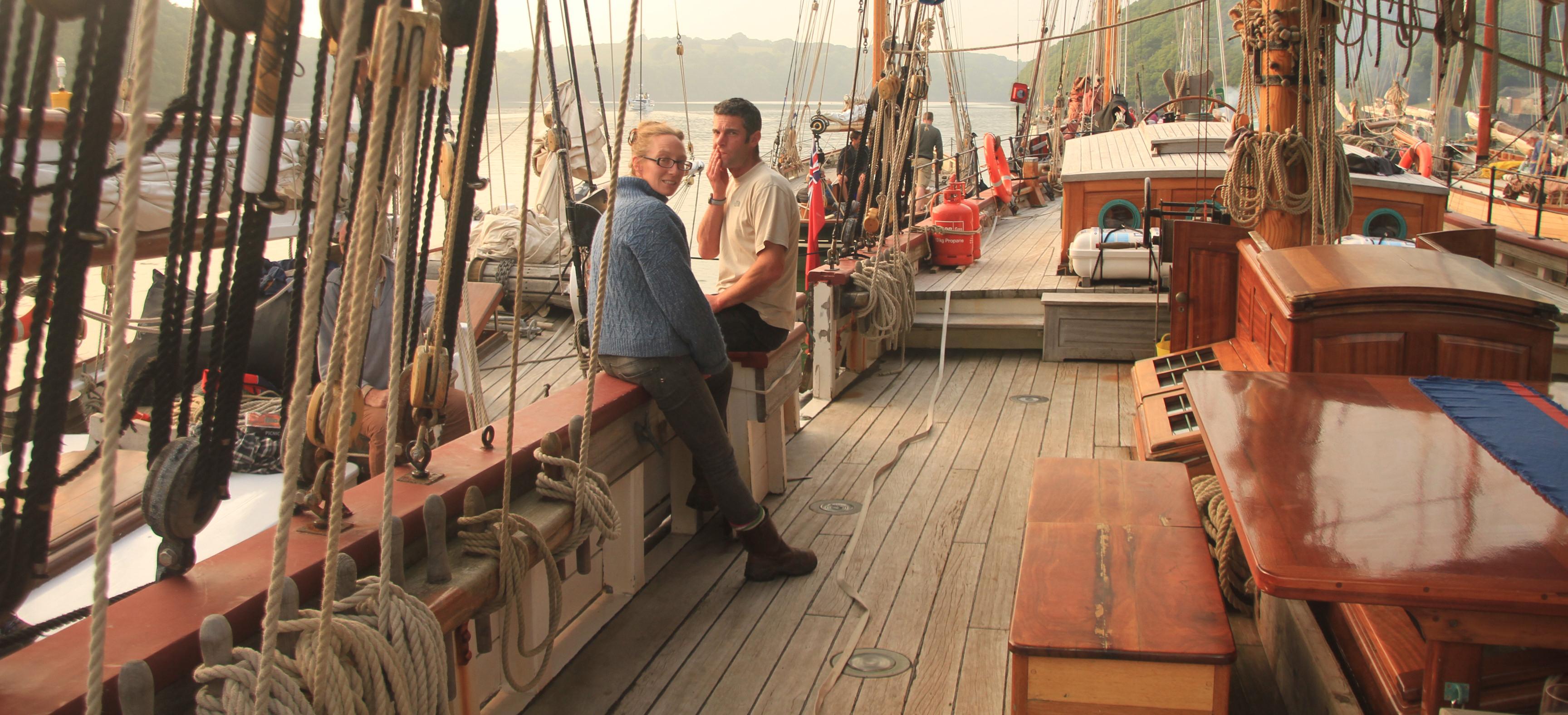 Big wide decks on Johanna Lucretia