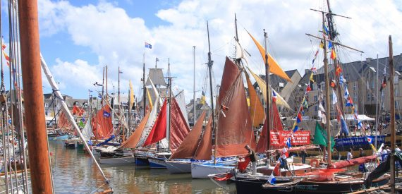 sail to a French maritime Festival