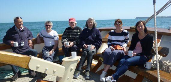Sailing weekend Sailing on Pilgrim with Classic Sailing
